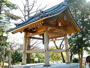 松月院本堂の梵鐘