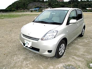 トヨタの PASSO 沖縄では大活躍!