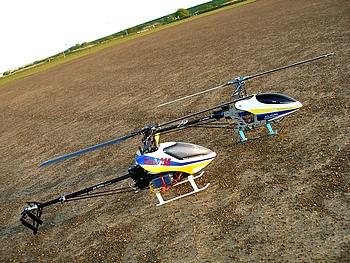 T-REX 450PRO と T-REX 450V2