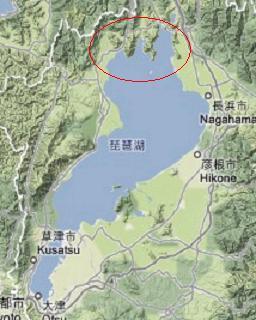 いわゆる琵琶湖