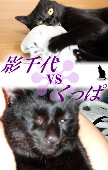 影千代VSくっぱ
