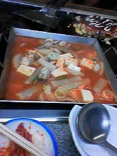 しんみどう牡蠣チゲ