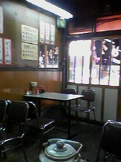 ときわ食堂店内