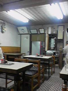 力餅食堂店内