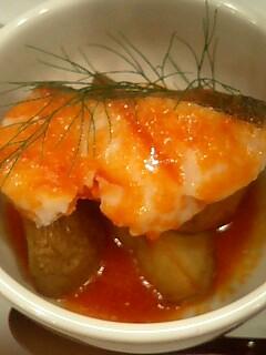 鱈トマトソース