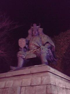 風林火山銅像