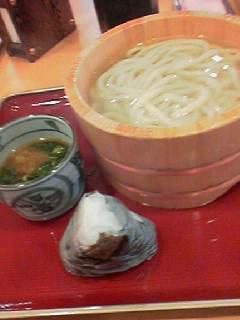 金比羅製麺釜あげ