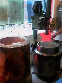 平壌冷麺屋製麺機
