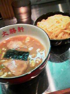 大勝軒2つけ麺