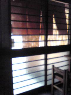 五ツ木暖簾内側