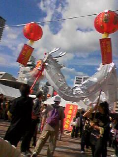 華遊祭会場