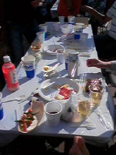華遊祭テーブル