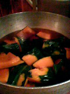 味処 けんかぼちゃ鍋