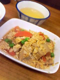 ぎふや食堂高野豆腐