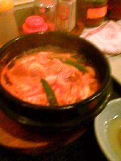 冷麺館チゲ