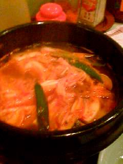 冷麺館チゲ大