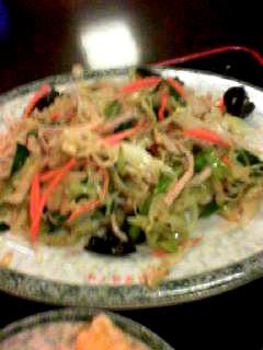 福星楼2野菜炒め