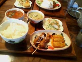 熱帯食堂ランチ