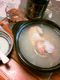 参鶏湯土鍋