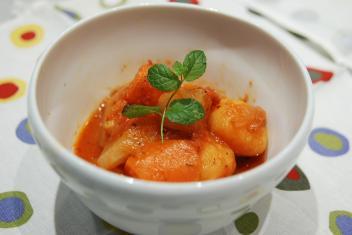 大根の味噌ラタトウィユ