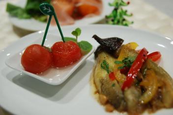 トマトのピクルス、茄子のベトナムマリネ