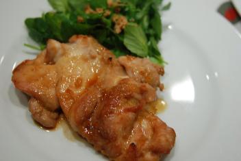 鶏肉のオイスターグリル