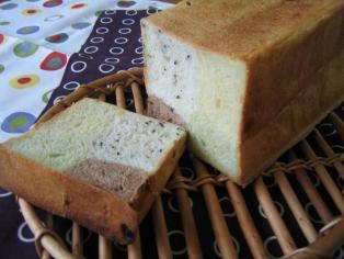 4種の四角い食パン