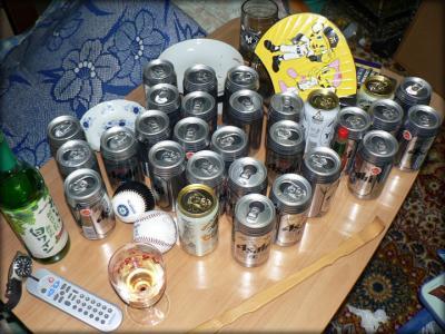WBC観戦ビール画像