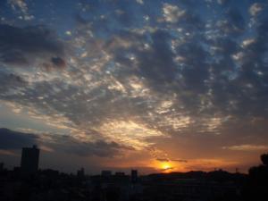 20081029夕景