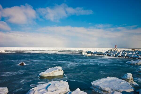 流氷再接近