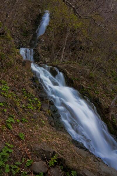 三段の滝 ( 知床ウトロ )