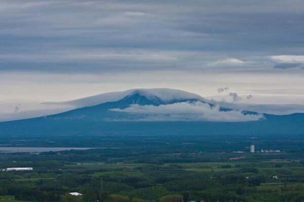 雲の砦  斜里岳