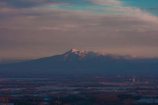 斜里岳遠望