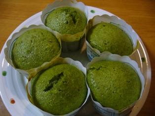 抹茶マフィン3315