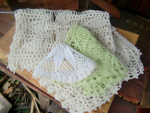 手編みレース