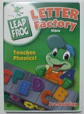LeapFrog DVD LetterFactory