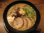 ニンニクラーメン@らー麺籐平江坂店