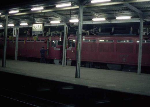 1973盛岡駅深夜-1