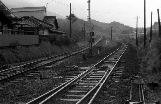 19761123和歌山線・北宇智ほか449-1