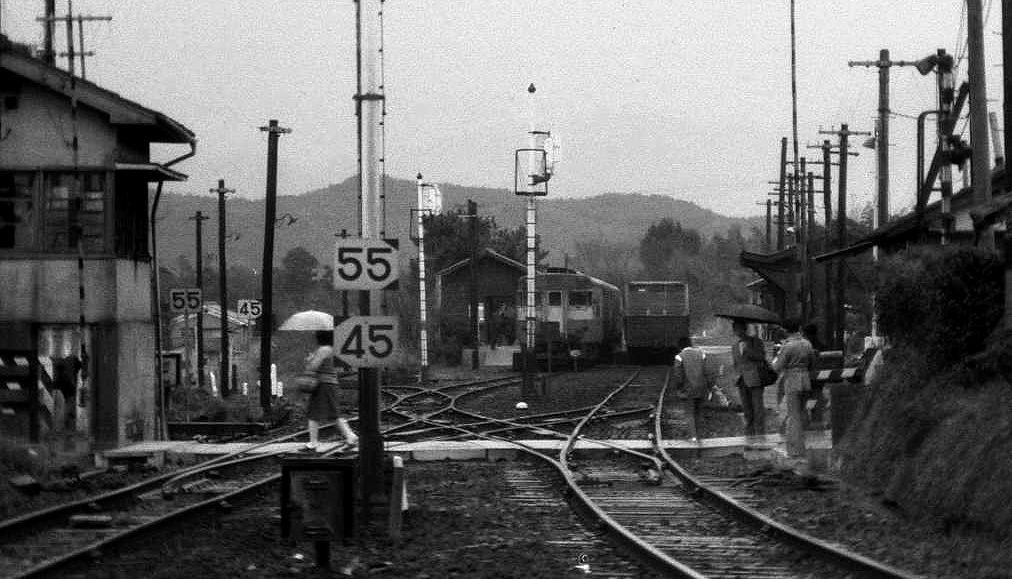 19761123和歌山線・北宇智ほか457-1