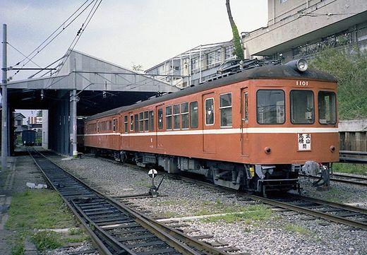 1981年交流山電鉄692-1