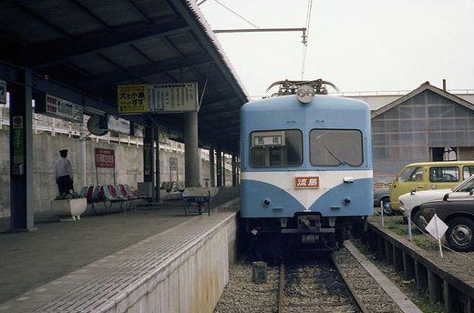 1981年交流山電鉄691-1