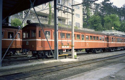1981年交流山電鉄693-1