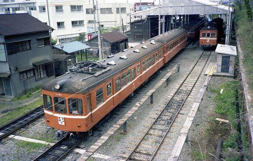 1981年交流山電鉄699-1