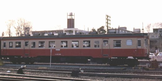 1981年真岡線709-1