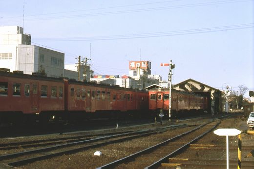 1981年真岡線708-1