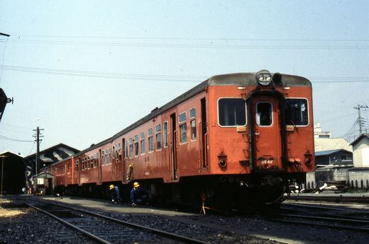 1981年真岡線713-1