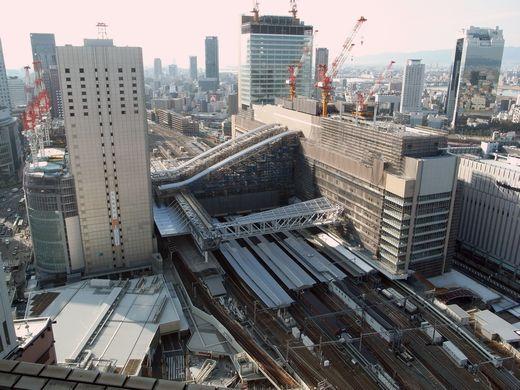 大阪駅ターミナルビル新築工事の...