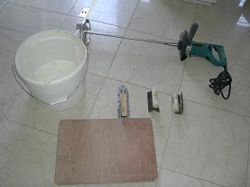 珪藻土施工レンタルグッズ一式2