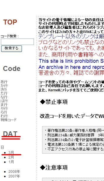 DSチート集説明1